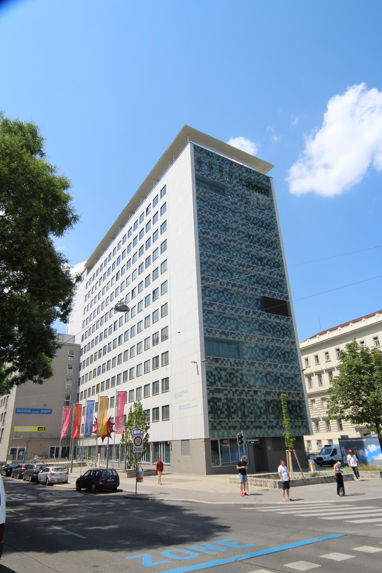 Uni Wien Rossauer Lände 3