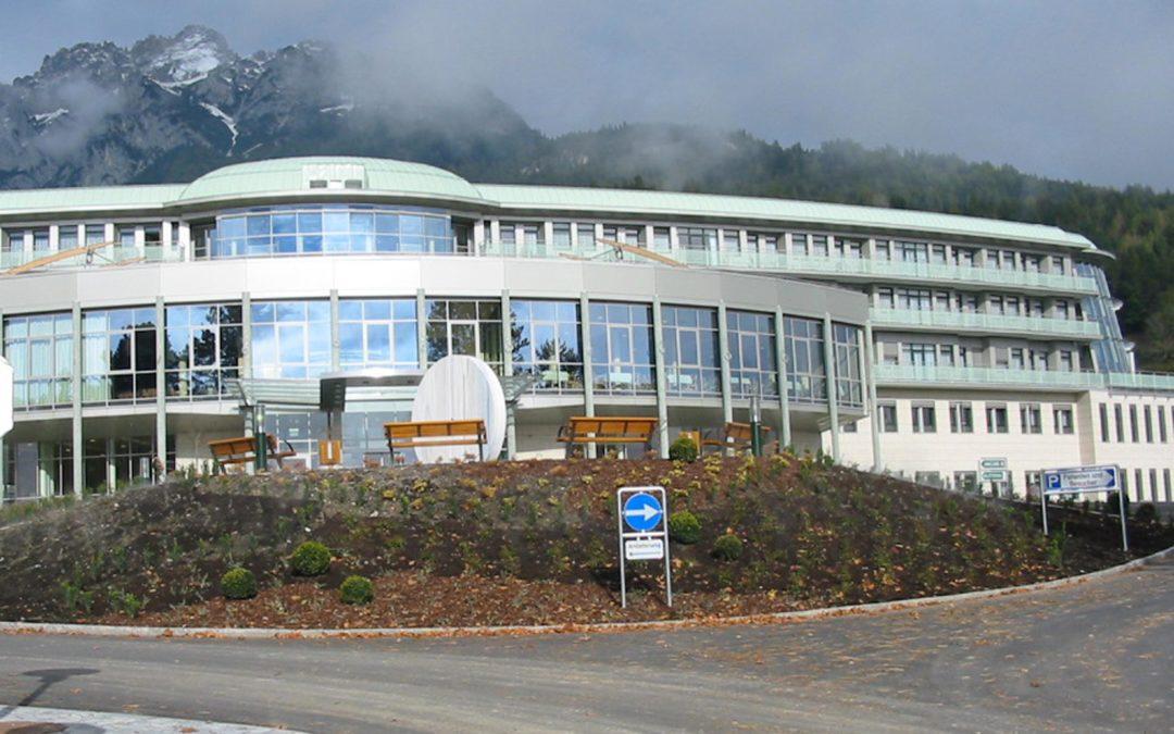 EDV Infrastrukturmaßnahmen für 8 RZ Sonderkrankenanstalten